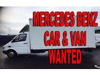 Mercedes Benz Srinter 208D - 310D - 312D Wanted!!!