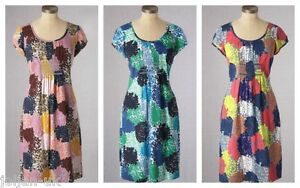NEW-LADIES-BODEN-BREEZY-MULTI-COLOUR-COTTON-BEACH-DRESS-SIZE-8-18-BNWOT