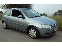 2005 VAUXHALL CORSA 1.0 DESIGN 1 YEARS MOT & TAX 3 DOORHATCH HISTORY VERY ECONOMICAL