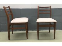 Scandart Dinning Chairs - vintage / retro / midcentury / teak
