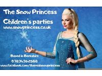 The Snow Princess children's parties! Princess Party , Superhero kid's entertainers Berkshire