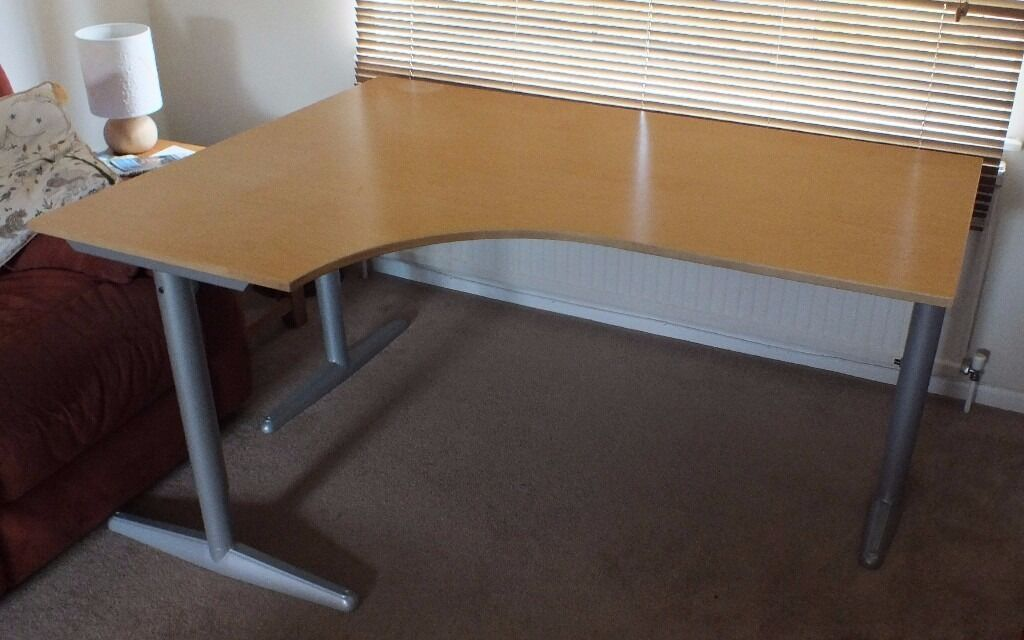 Ikea Effektiv T Home Office Corner Desk In Thetford
