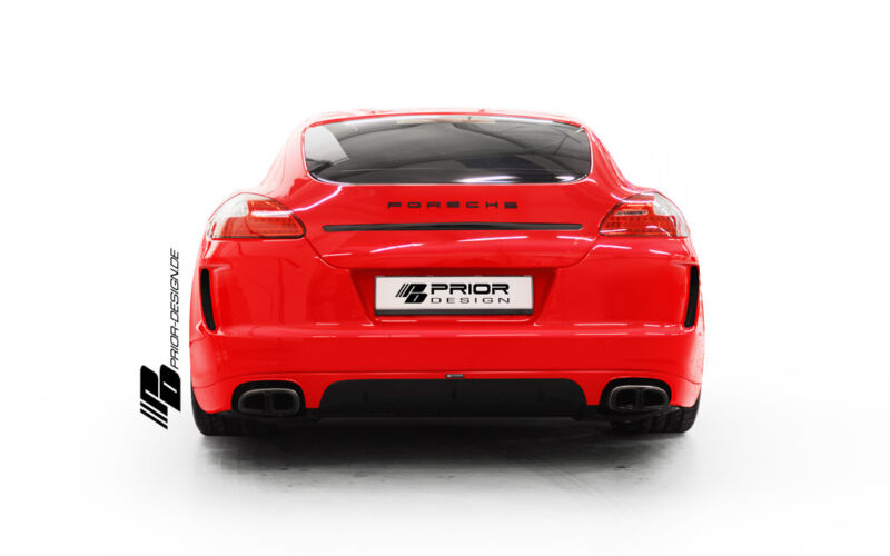 Porsche Panamera 970 Front And Rear Bumper Body Kit Diffuser S 4s Turbo V6 V8