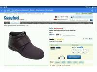 LADIES ANKLE BOOTS BY COSY FEET