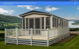 static caravan offered on a long term let in Northumberland