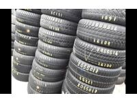 Part worn tyres / 2205/50/17 x 4 / winter tyres in stock/ 41 new road rm138dr