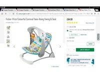 Fisherprice swinging chair