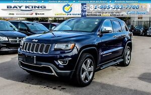 2015 Jeep Grand Cherokee LIMITED, NAVI, SUNROOF, BLINDSPOT MONIT