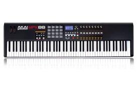 AKAI MPK88 - Hammer Action USB MIDI Controller - in good condition.