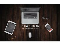 PRO WEB DESIGNS | Your Pride, Your Competitor's Envy | 5* Reviews