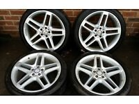 Mercedes GLK AMG Set of Alloy Rims and Tyres