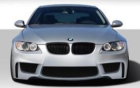 BMW e92 , e93 M1 style front Bumbe