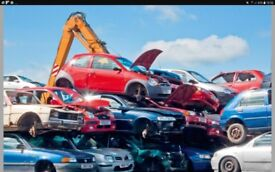 Scrap cars wanted dead or alive car batterys alloys
