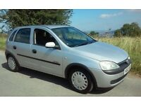 2002 VAUXHALL CORSA 1.2 COMFORT MOT & TAX HISTORY VERY ECONOMICAL