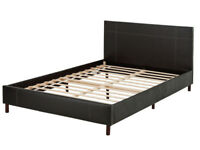 EX DISPLAY Erica Small Double Bed Frame - Black