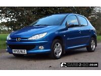 **FULL YEARS MOT** Peugeot 206 1.4 Sport Petrol Metallic Blue 2005