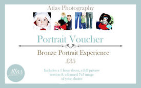 The Portrait Experience Voucher - Special Offer - £20 at Studio 8 Salisbury