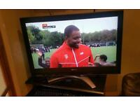 "37 "" Toshiba lcd tv hd ready with built-in freeview."