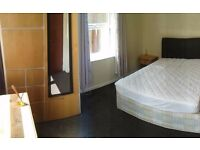 Double rooms available in professional town centre house share,7-8 minutes walk of the train station
