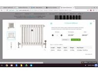 Cast iron column radiators- looking for radiators to instal in Victorian flat