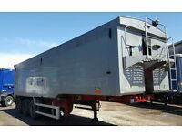 montracon tipping trailer 2008