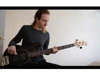 BASS GUITAR TUITION - N. London, Experienced professional musician