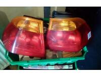 BMW e46 back lights