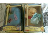 My first pooh and eeyore