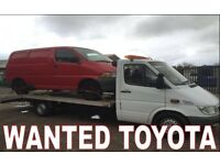 WANTED!!! TOYOTA HIACE VANS WANTED!!!!
