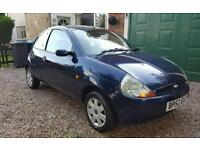 Ford ka 1.2 petrol 2003 long mot