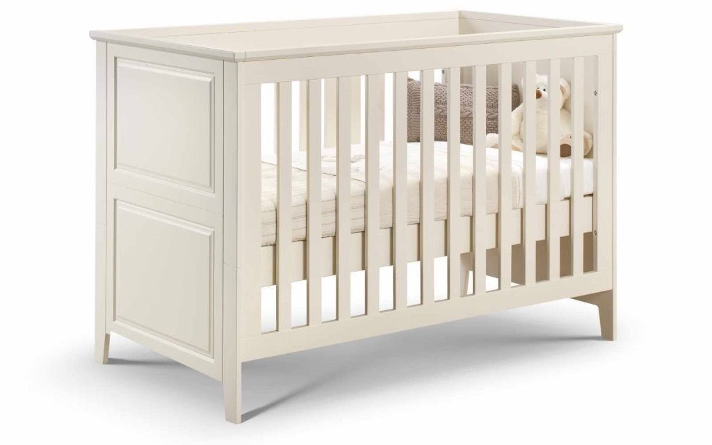 John Lewis Square Cot Bed In White In Ruislip London
