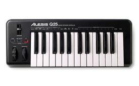 Alesis 25 & 49 key Midi Keyboards - £50 both!
