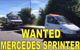 Mercedes Benz sprinter & e220cdi wanted