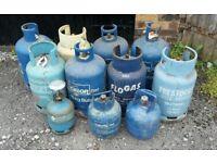 Joblot Calor Gas Bottles Blue Brown BBQ Caravan Heating Most R Full Mix Sizes