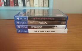 Witcher 3, Fallout 4, MGS V and Dying Light bundle