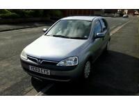 Vauxhall Corsa 2003, 1.0 Petrol, 5 door, 58802 miles
