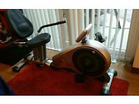 Vfit Mptcr2 recumbent magnetic exercise bike v-fit bicycle cycle machine fitness beny sports