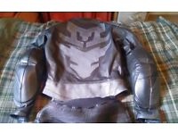 Womens leather jacket & trousers