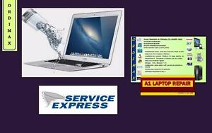 SOS liquide sur votre Laptop Macbookpro  Macbook Retina, Macbook Air .Asus,Dell,Toshiba,Samsung, Acer, Alienware, Lenovo