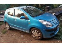 Nissan Pixo, 2010 year, blue colour, 5 doors Breaking and selling for Parts sale...