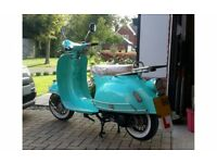 AJS Modena 125cc retro scooter brand new