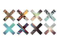 2 x The xx standing tickets SWG3 Studio Warehouse Glasgow Wednesday 30th August