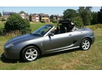 2004 MG TF 1.8 CONVERTIBLE 1 YEARS MOT LOW MILEAGE FUTURE CLASSIC