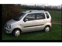Vauxhall Agila for sale. 8 months tax and mot. Cheap little run around.