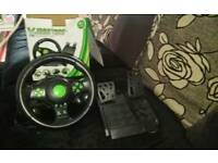 Vibration steering wheel