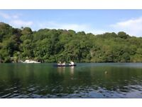 2018 HOLIDAYS FOR SIX PEOPLE ON THE RIVER FAL, FALMOUTH.