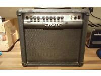 Crate gtx30 amp with effects