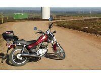 2002 Yamaha SR 125.