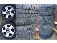 AUDI R16 all season tyres in great condition with alloys.