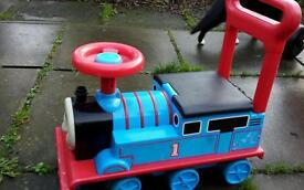 Ride on Thomas tank